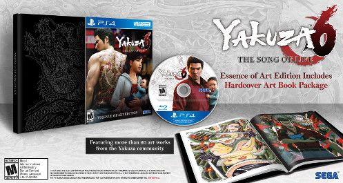 PS4 - Yakuza 6: The Song of Life (Essence of Art Edition)